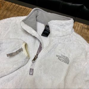 North Face M osito fleece jacket Snow White